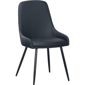 Theo stol - Svart PU