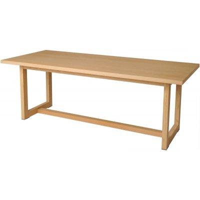 Shanon matbord 100 cm - Ekfanér