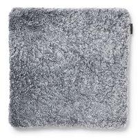 Curly stolsdyna fårskinn - Silvergrå