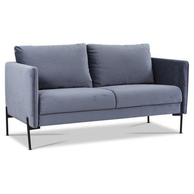 Kingsley 2,5-sits soffa - Duvblå sammet