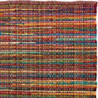 Handgjord matta - Home - Pastell - Handvävd bomull