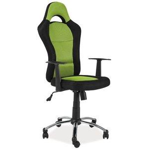 Leanna skrivbordsstol - Svart/grön