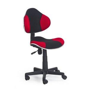 Sara skrivbordsstol - svart/röd