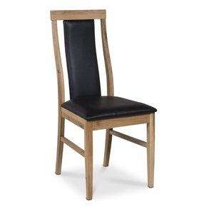 Jasmine Royal stol - Oljad ek / PU