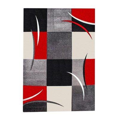 Maskinvävd matta Rivoli - Röd