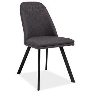 Maryam stol - Grå/svart
