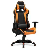 Gamingstol Deluxe - Svart/orange
