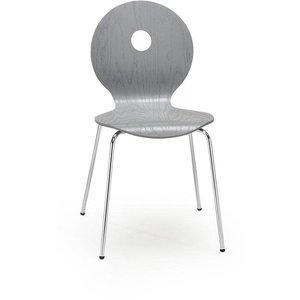 Stol Anitta - Grå/krom