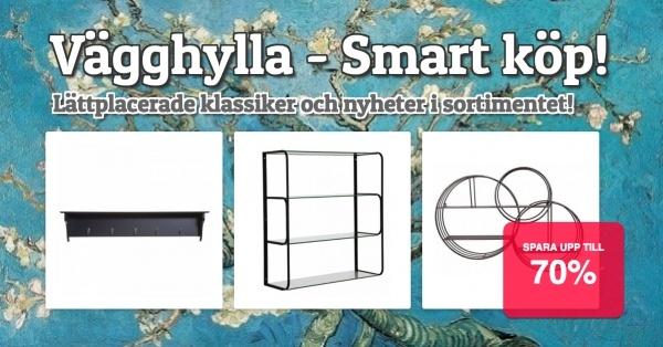 Vägghyllor - Smarta köp!