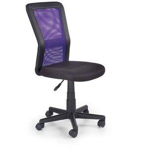 Clarissa skrivbordsstol - Svart/lila