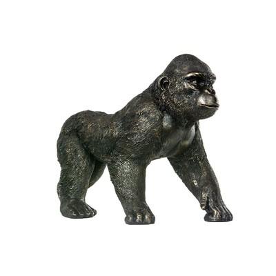 Prydnads Gorilla - Brun