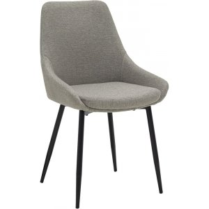 Theo stol - Grå/svart