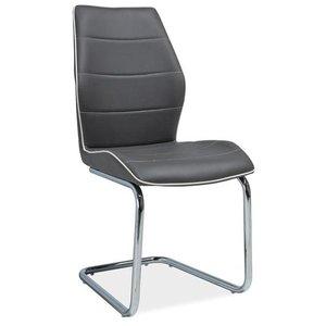 Arielle stol - Grå/krom