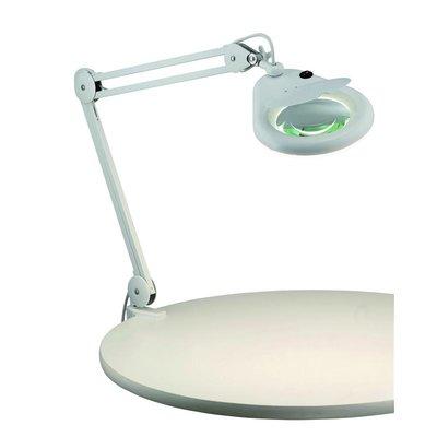 Halltorp Bordslampa med förstoringsglas - Vit