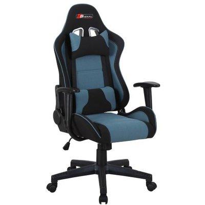 Tyson kontorsstol - Svart/blå