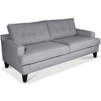 Space 3-sits soffa - Ljusgrå (Tyg)