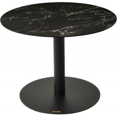 Pandora sidobord - Svart keramik/marmorimitation