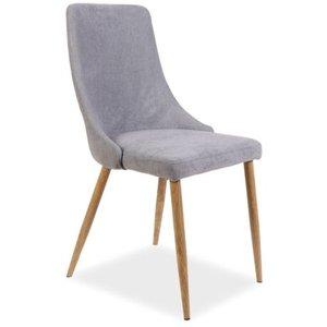 Kailee stol - Grå/ek