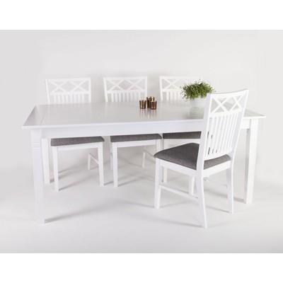 Ramsö matgrupp - Bord inklusive 6 st stolar