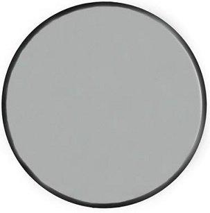 Velvet rund spegel 60cm - Svart sammet