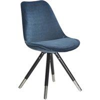 Orso stol - Blå sammet