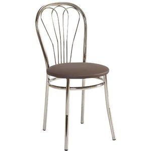 Maritza stol - Brun/krom