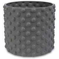Kruka Bubbel H16 cm - Grå