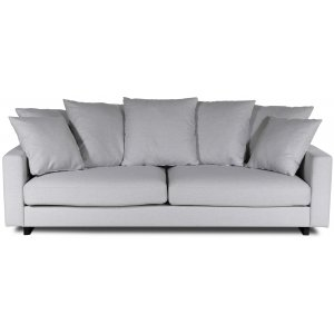 New Lexington 3,5-sits soffa 240 cm med kuvertkuddar - offwhite linne