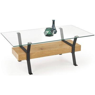 Lelle soffbord - Ek/svart