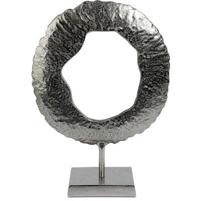 Figurin Amadeus Sköld H44 cm - Silver
