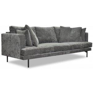 Smile 3-sits soffa - Valfri färg
