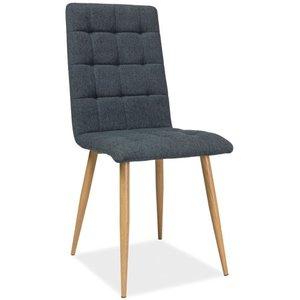 Jaqueline stol - Grafit/ek
