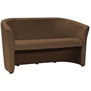 Charity 3-sits soffa - Brun (PU)