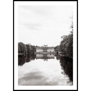 Ł AZIENKI PARK WARSZAWA - Poster 50x70 cm