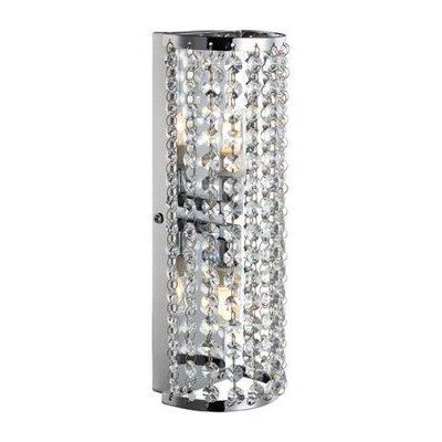 Lysekil Vägglampa - Krom/Kristall