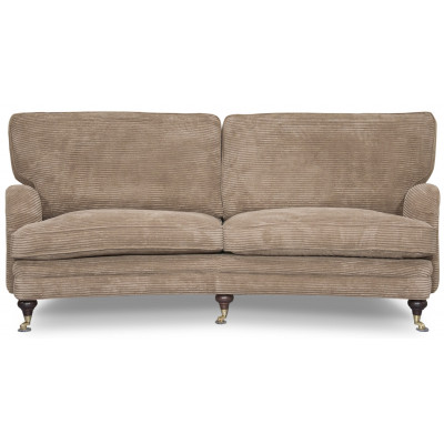 Howard Spirit svängd soffa - Brun (Manchester)