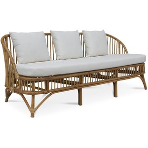 Baboo 3-sits soffa med dynor - Rotting natur
