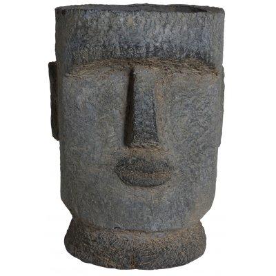 Ansikte kruka H43 cm - utomhus kruka
