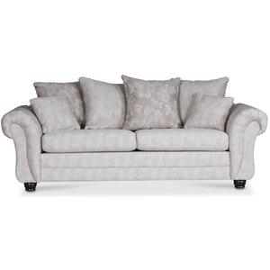 Erikstad 3-sits soffa - Beige multi