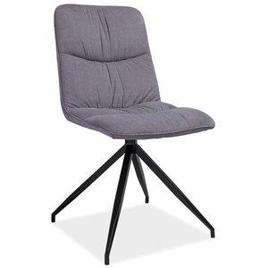 Alexandria stol - Grå/mattsvart