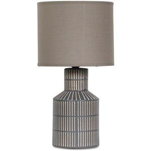 Märtha Bordslampa 48 cm - Grå/Brun