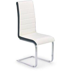 Iris stol - vit/svart