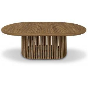 Edenryd ovalt matbord 200 cm - Teak