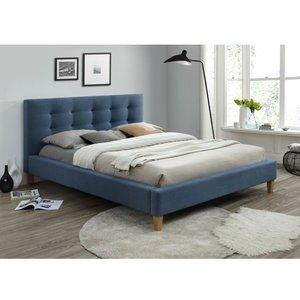 Kinsey sängram 160x200 cm - Denimblå