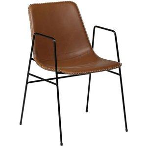 Floss matstol - Ljusbrun
