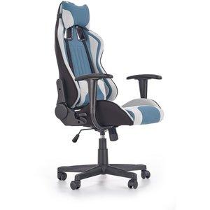 Sabella kontorsstol - Blå/vit
