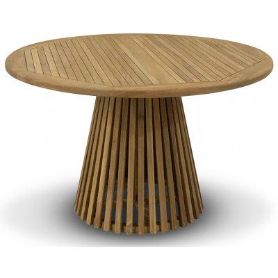 Saltö runt konformat matbord D120 cm - Teak
