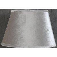 Velvet Oval lampskärm 33 cm - Beige