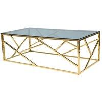 Leavitt soffbord - Guld/svart