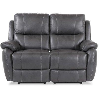Enjoy Hollywood reclinersoffa (Biosoffa) - 2-sits (el) i i grått konstskinn